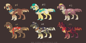 Adoptables-5-7 by Endber