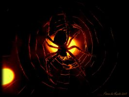 Halloween Spider by spaceship505