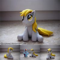 MLP Derpy Hooves FIMO by Qucykowa