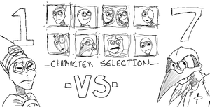 9 Character Select by chibijaime