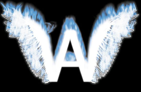 A W letter logo by Ularia