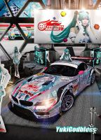 My Miku Racing Queen Show room by yukigodbless