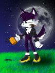 Collab:Mike the Wolf by chickenoverlord