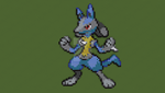 [PIXELART#03]Lucario (Pokemon Black and White/2) by GamerRukario