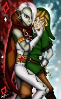 Ghirahim x Link Ever After... NOT! by Emerii