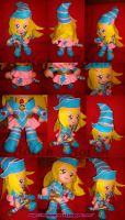 Dark Magician Girl plush ver. by Momoiro-Botan