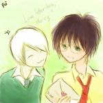 Drarry_Love letter huh, Harry? by Yuuwei