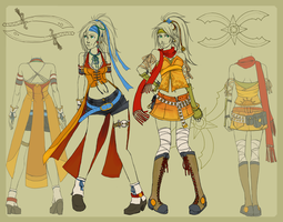 Rikku New Dress Spheres by Shinou