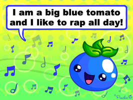 A Rapping Tomato by Princess-Peachie