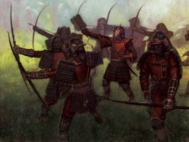 Defensive Archers by JoeSlucher