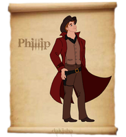 Western Disney - Phillip by daKisha