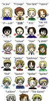 APH - Losing In Many Languages by lillilotus
