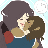 StreamTime: Korrasami by UltimateSketchQueen