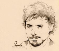 Rough Sketch - Robert Downey Jr. by kleinmeli