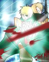 APH-usuk-In Battle by Sekairi-Miyano