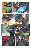 Godzilla Rulers of Earth issue 7 - pg 3 by KaijuSamurai