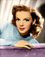 Judy Garland Colored by Livadialilacs