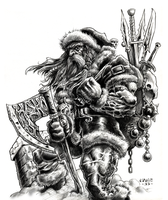 Warrior Claus 2 by vikingmyke