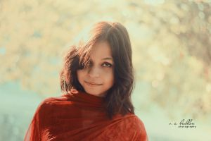 Winter Girl Portrait by badhon