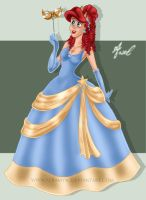 Disney Princess - Princess Ariel by RaaDWaa