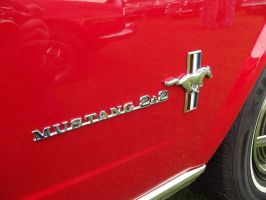 1965 Ford Mustang Badge by JS92