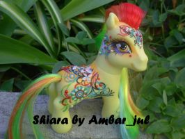 My little pony custom Shiara by AmbarJulieta
