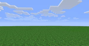 Flat Grass Map for MINECRAFT by pempengcoswift13