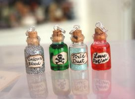 Mini Bottles by craftersdelights