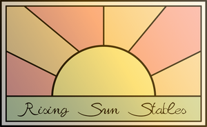 Rising Sun Stables: Logo by yokuns