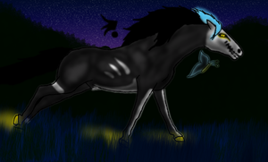The night of the Hunter by WarriorBlackLeaf