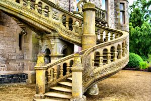 Belfast Castle Stairs by ottomatt