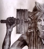 Cloud Strife by Borsten