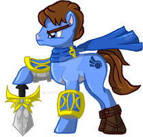 Garen: The Mighty Demacian Stallion by LadyBelva
