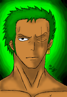 Roronoa Zoro 2 by Lind-a