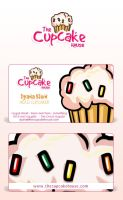 TheCupcakeHouse - Logo-Cards by t4m3r