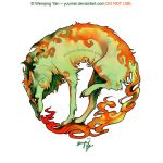 Tread on Fiery by yuumei