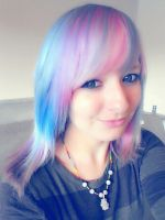 New Hair, New ID - Again by MindlessKitteh