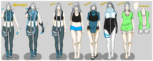 Jiji Lin: Clothing Reference Sheet by Tahani-Kun