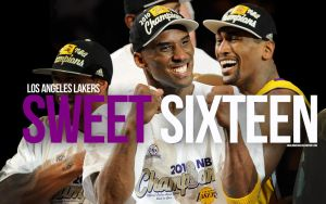 Lakers NBA Champions 2010 by IshaanMishra