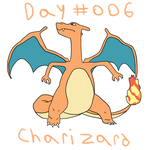 Day 006 Charizard by GiygasBandicoot