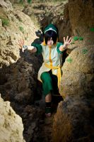 Toph Bei Fong - AGRESSIVE MODE by FirehawkCosplay