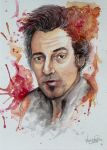 Portraits Bruce Springsteen by VeroFalcioniArt