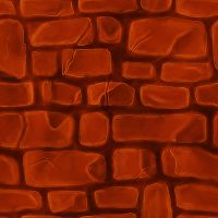 Tileable Brick Texture by bhaskar655