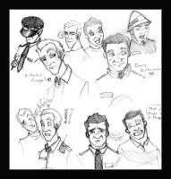 Hot Fuzz - Character Sketch by The-Quiet-Wanderer