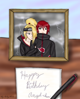 Happy Birthday Angelorion by LadyNoise