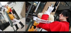 Hellsing Cosplay: Part of the Team by Redustrial-Ruin