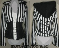 Beetlejuice by Corset-Hoodies