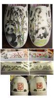 Panda-monium Shoes by someorangegirl