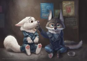 Zootopia Wolves by Silverfox5213