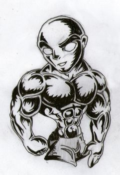 Bold Muscle man by TestosteroneCorp